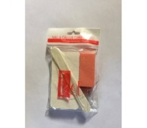 disposable File and buffer kit